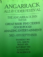 Beer Festival - Thursday September 3rd to Sunday September 6th | Angarrack Inn